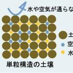 単粒構造(たんりゅうこうぞう)