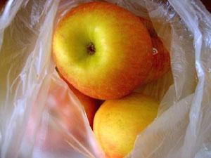 リンゴが発するエチレンガスは、果実の成熟を促す