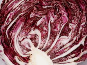 紫キャベツの色素は、花青素(かせいそ)と呼ばれる