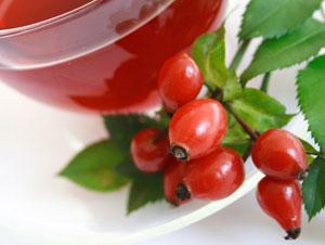 ローズヒップとして知られるバラの実は、集合果の一種で、内部に多数の果実を含むバラ状果である